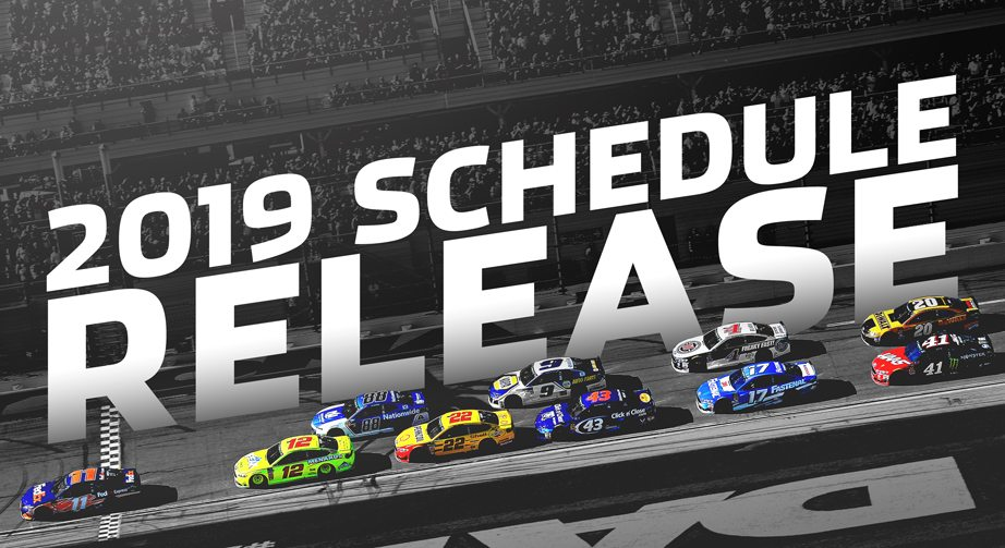 NASCAR reveals 2019 Monster Energy Series schedule – Nascar