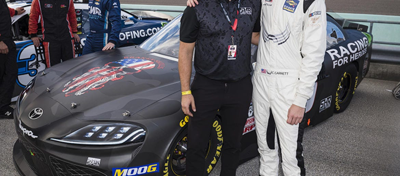 NASCAR team tackles veteran suicide – Connecting Vets