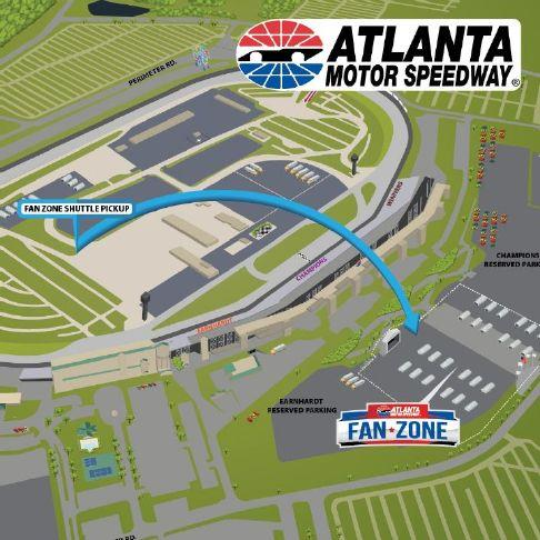 New express shuttle added for NASCAR weekend at AMS – Griffin Daily News