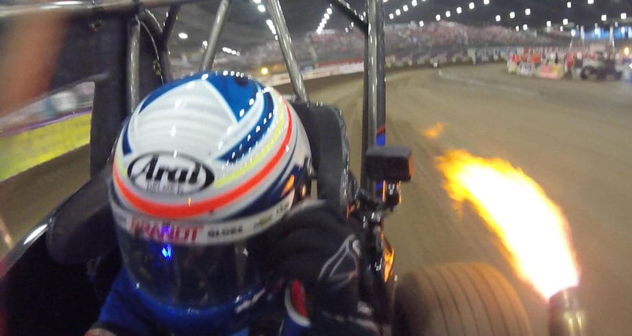 Ride with Justin Allgaier in his Friday night Chili Bowl heat race – NASCAR