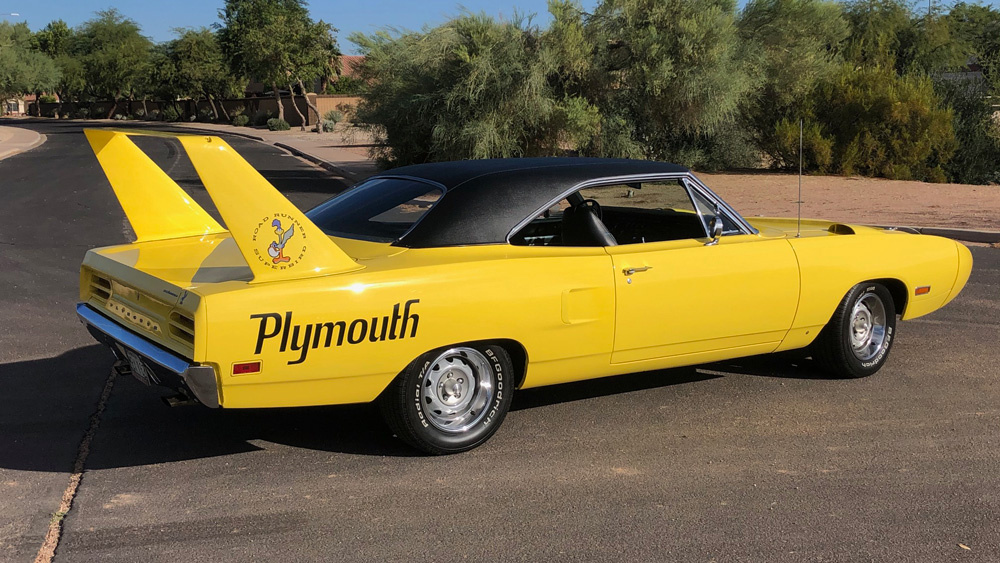 The 1970 Plymouth Superbird Won 18 NASCAR Races. Now You Can Buy a Street-Legal Version of Your Own. – Robb Report