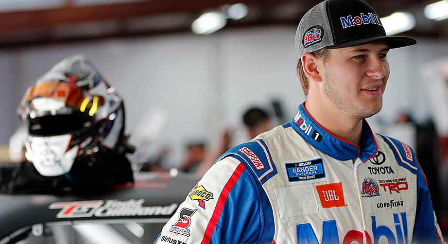 Todd Gilliland to race Gander Trucks for Front Row Motorsports – NASCAR