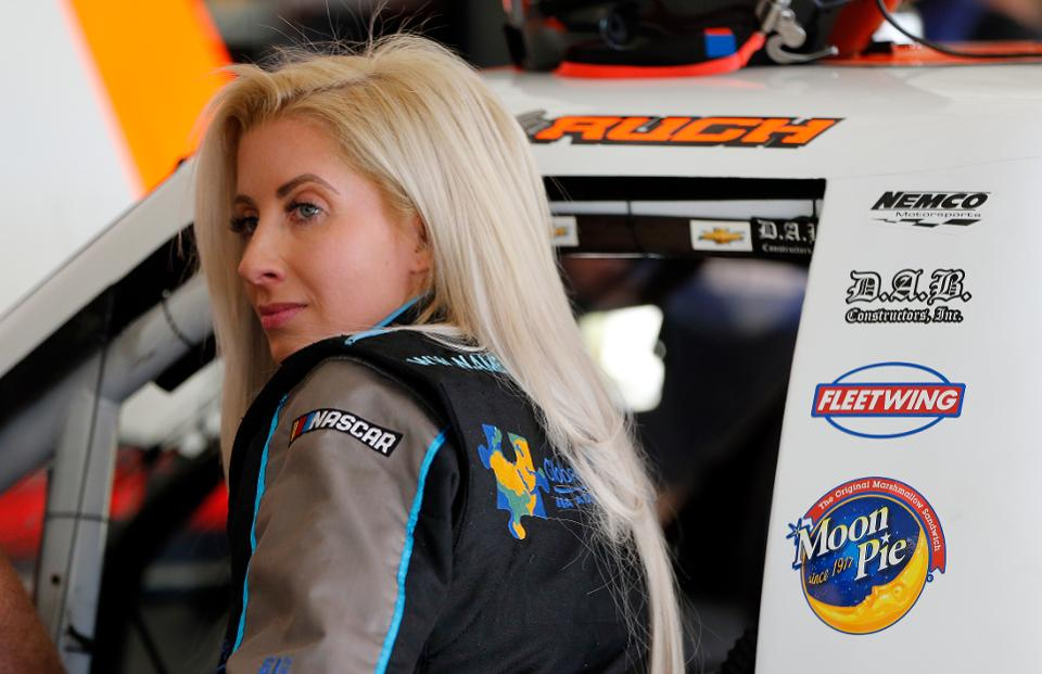 How Angela Ruch Juggles Babies And NASCAR's Truck Series – Forbes