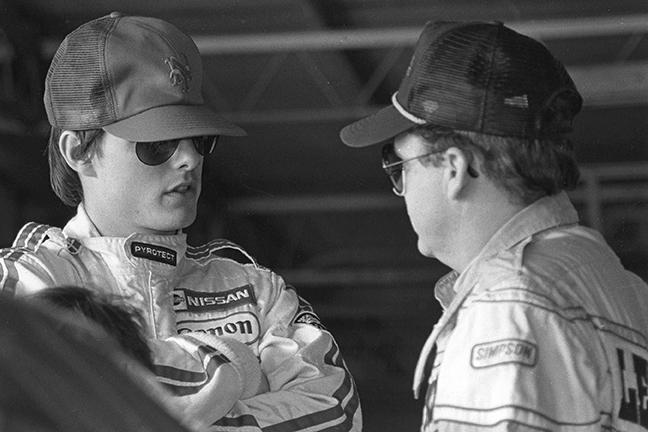 Movie Cars, no-engine car part of 1990 Daytona 500 – Kickin' the Tires