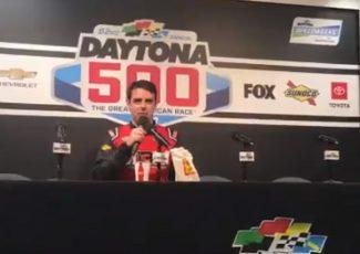 This NASCAR driver left the Daytona 500 to go to Bojangles – SB Nation